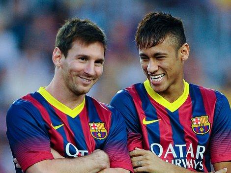 Barcelona v Santos - Pre Season Friendly