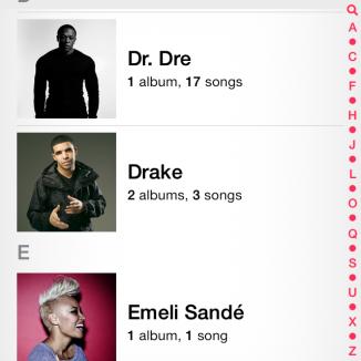 Maintenant, l'application Musique télécharge des photos des artistes directement sur votre collection locale si vous n'en avez pas.