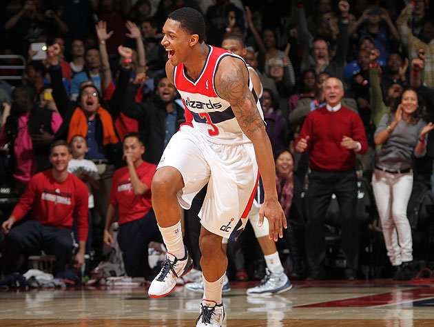 Bradley-Beal-celebrates-knocking-down-a-jumper-with-0.3-seconds-left-to-beat-OKC.-Ned-Dishman-NBA-Getty-Images