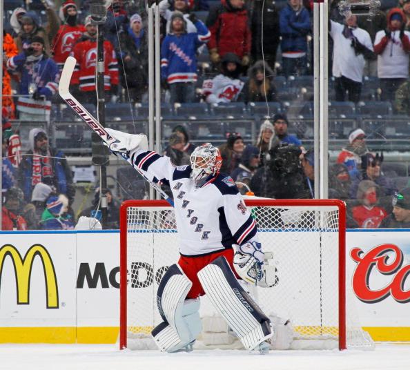 2014 Coors Light Stadium Series - New York Rangers vs New Jersey Devils