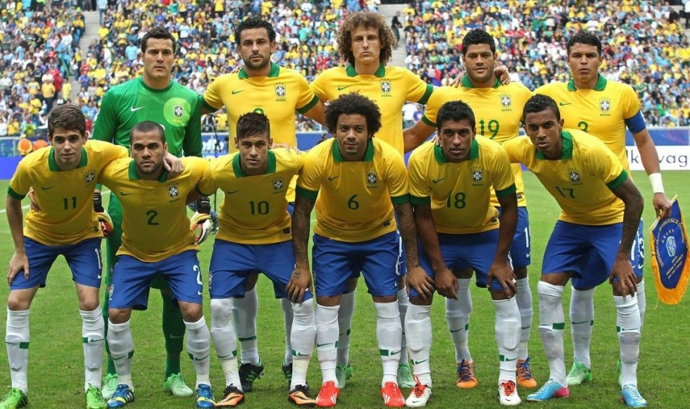 Brazilian Team World Cup 2014